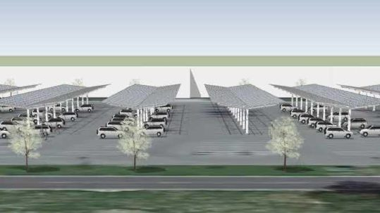 Keesler Air Force Base in Biloxi, Mississippi is a project in development.