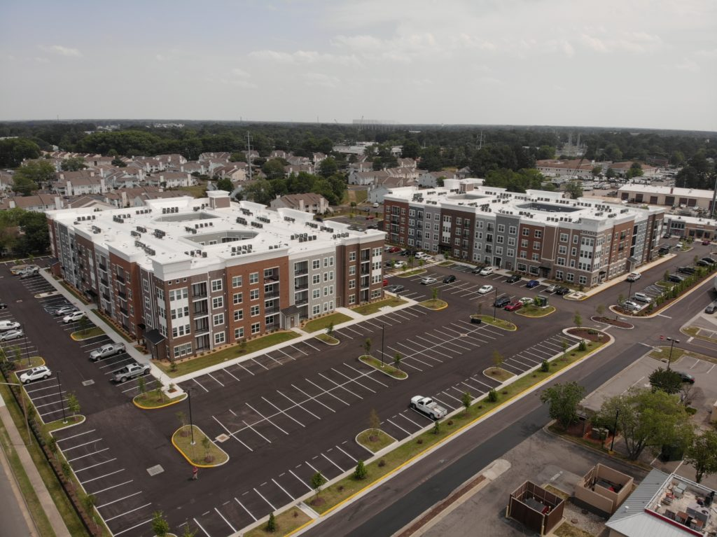 Nexus apartments is a new construction development located in Virginia Beach.