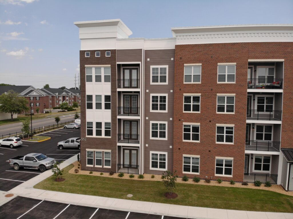The NCI multifamily division provides roofing, siding, and related exterior contracting services to large general contractors throughout Virginia.