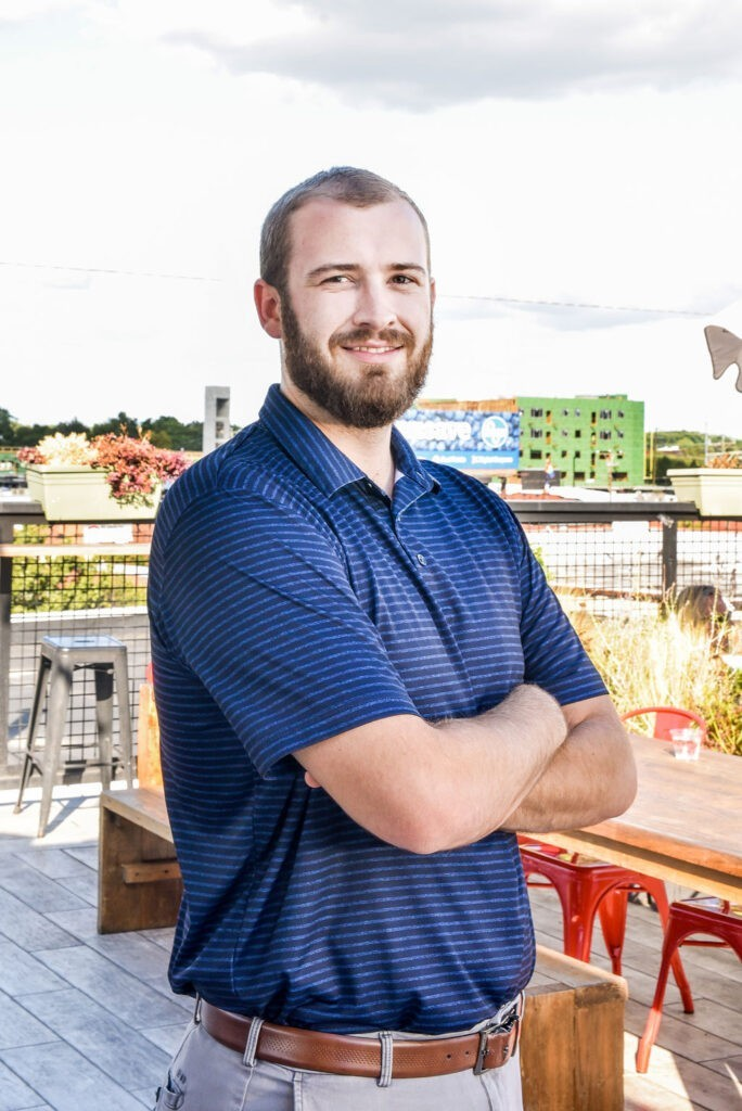 Image of assistant project manager Brandon Kemp