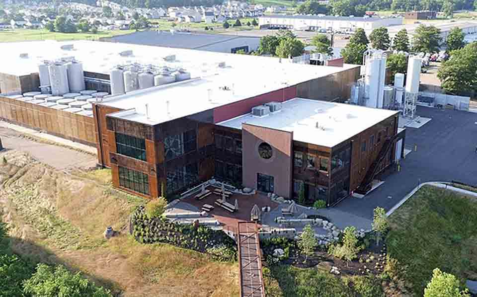 NCI commercial roofing project at Stone Brewing in Richmond Virginia